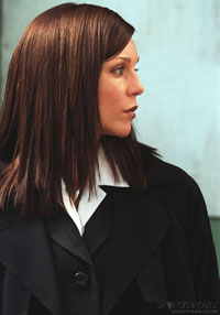 Sarah-Jane Redmond as Sgt Sheila Kurtz in the Canadian award winning drama Da Vinci's Inquest and its spin-off series Da Vinci's City Hall.