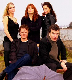 A cast photo from The Night Of The Iguana.