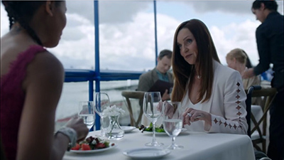 Image of Sarah-Jane Redmond in her role on Siren.
