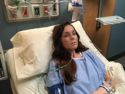 Image of Sarah-Jane Redmond in her role on The Good Doctor.