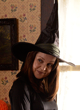 A photo of Sarah-Jane Redmond in The Haunting Hour.
