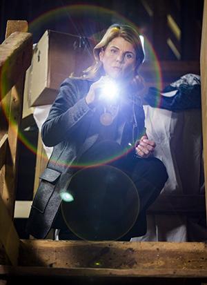 A photo of Lori Loughlin as Garage Sale Mysteries sleuth Jennifer Shannon.