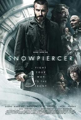 2013 film Snowpiercer poster.