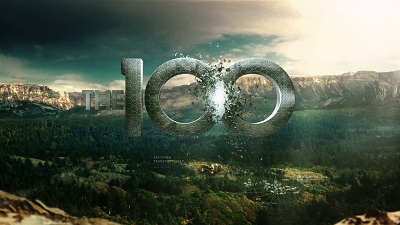 Promotional poster for The 100.