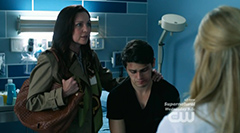 Sarah-Jane Redmond in the medical drama series Emily Owens, M.D.